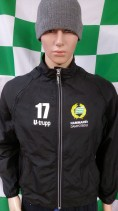 Hammarby IF (Player Worn) Football Jacket (Adult Small)