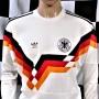 1990-1992 West Germany (Long Sleeved) Adidas Football Shirt (Adult Medium)