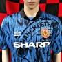 1992-1993 Manchester United Umbro Football Shirt (Adult XL)
