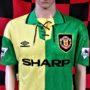 1992-1994 Manchester United Umbro Football Shirt (Adult Large)
