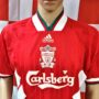 1993-1995 Liverpool (Neil Ruddock) Adidas Football Shirt (Adult Medium)