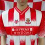 2001-2002 Lincoln City (Match Worn 11) Football Shirt (Adult Small)