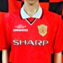 1999-2000 Manchester United (Jaap Stam) Umbro Football Shirt (Adult Large)