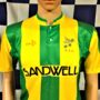 1989-1990 West Bromwich Albion Sandwell Football Shirt (Adult XS)