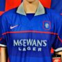 1997-1999 Glasgow Rangers (Paul Gascoigne) BNWT Nike Football Shirt (Adult Medium)