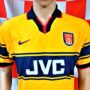 1997-1999 Arsenal Nike Football Shirt (Adult Small)