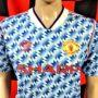 1990-1992 Manchester United Adidas Football Shirt (Adult Small)