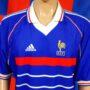 1998-2000 France (Daniel Moreira) Adidas Football Shirt (Adult Large)