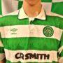 1989-1991 Glasgow Celtic Umbro Football Shirt (Adult Large)